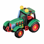 Jucarie de construit mic-o-mic 3D Tractor 16.5 cm
