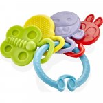 Jucarie dentitie BabyJem Rattle Teether Blue