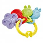 Jucarie dentitie BabyJem Rattle Teether Yellow