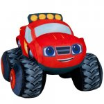 Jucarie din material textil Blaze and the Monster Machines 15 cm