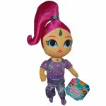 Jucarie din plus si material textil Shimmer and Shine 30 cm