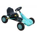 Kart cu pedale si roti gonflabile Dakota Blue