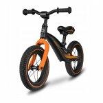 Bicicleta cu roti gonflabile fara pedale Bart negru Lionelo