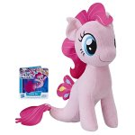 Jucarie plus My Little Pony 25 cm Pinkie Pie cu codita de sirena