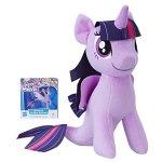 Jucarie plus My Little Pony 25 cm Twilight Sparkle cu codita de sirena