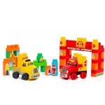 Camion cu 60 de cuburi de construit incluse Molto