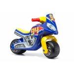 Motocicleta albastra de curse Molto