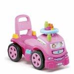 Camion bebe roz cu 10 cuburi incluse Molto