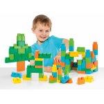 Cutie cu 90 de cuburi de constructie verde Molto