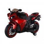 Motocicleta electrica cu roti ajutatoare Aspen Red