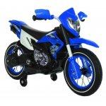 Motocicleta electrica cu roti gonflabile Super Moto Blue