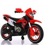 Motocicleta electrica cu roti gonflabile Super Moto Red