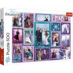 Puzzle Trefl Universul Frozen 500 piese