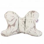 Perna suport pentru gat cu doua fete Baby Matex Butterfly 07