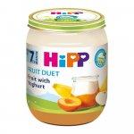 Piure HiPP Fruit-Duet iaurt cu fructe 160g