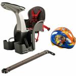 Scaun de bicicleta si casca protectie Mickey WeeRide WR01DMK