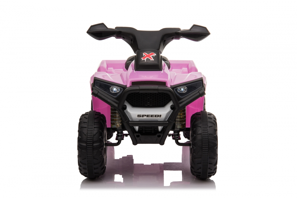 Atv electric 6V Nichiduta Racer X Pink