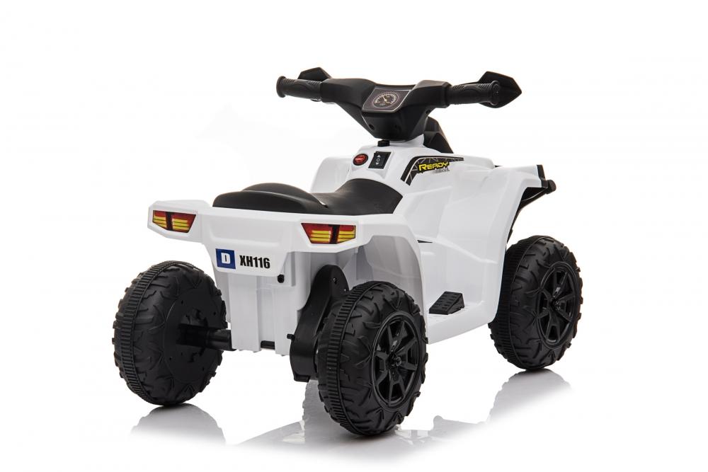 Atv electric 6V Nichiduta Racer X White