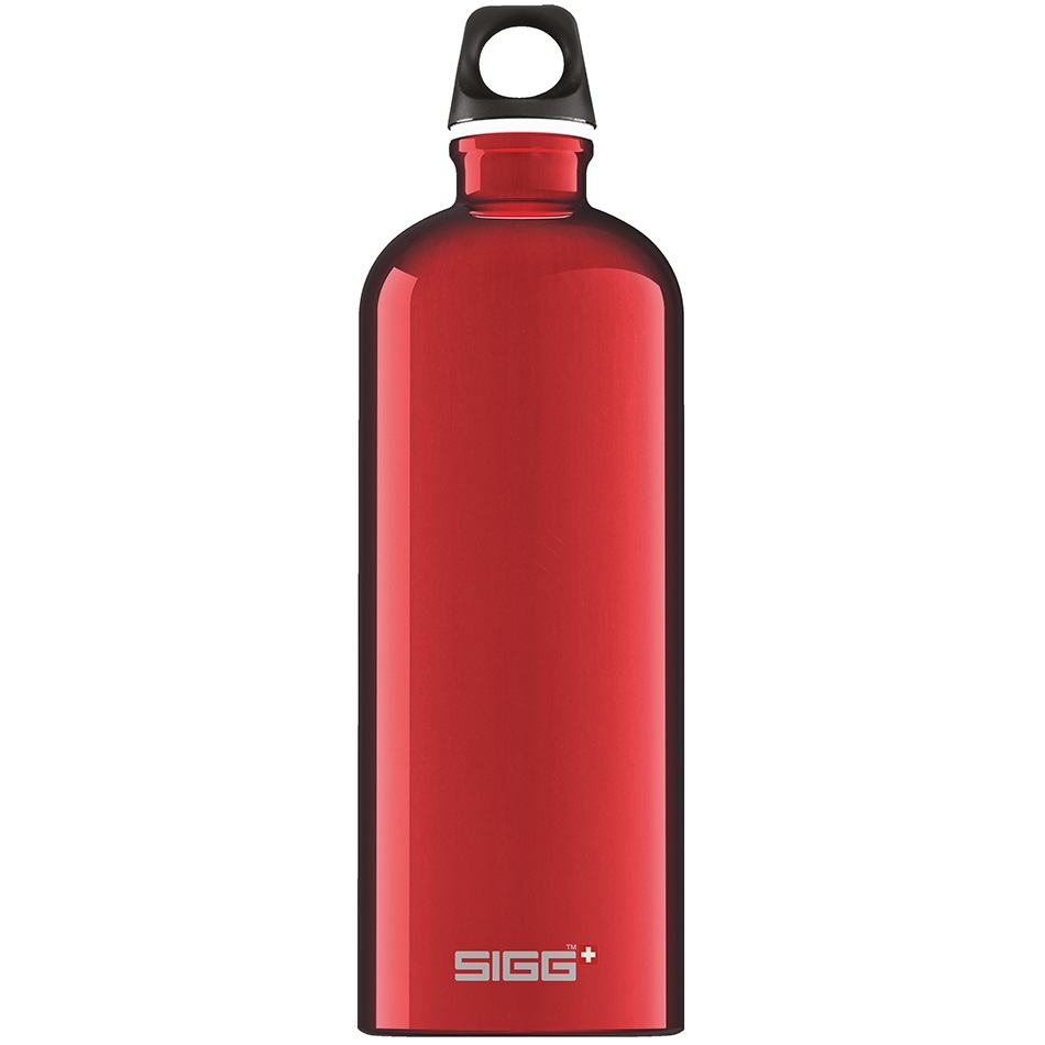 BIdon din aluminiu Traveller Red, 1L imagine