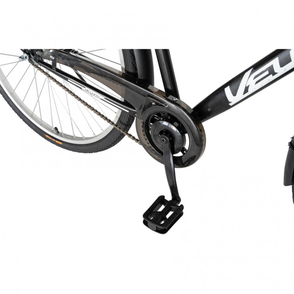 Bicicleta City 28 inch Velors V2893B negrualb