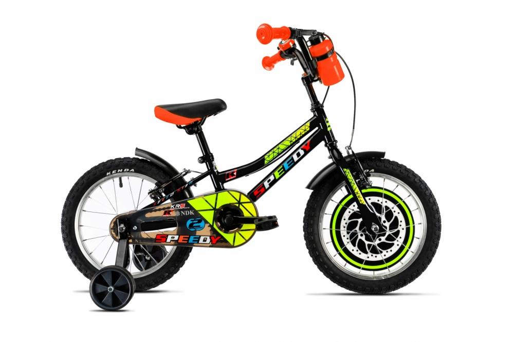 Bicicleta copii Dhs 1603 albastru 16 Inch