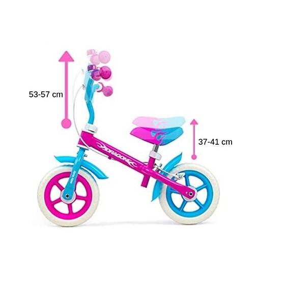 Bicicleta fara pedale cu frana Dragon Candy