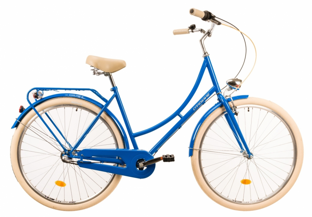 Bicicleta oras Dhs Citadinne 2836 albastru 28 inch imagine