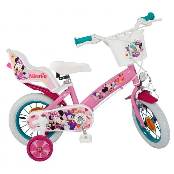 Bicicleta pentru fetite Minnie Mouse Club House 14 inch