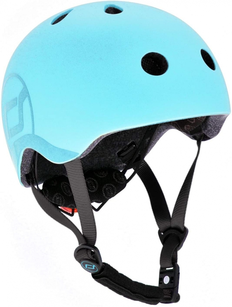Scoot  Ride Casca de protectie pentru copii cu sistem de reglare Scoot  Ride Blueberry S-M 3 ani+