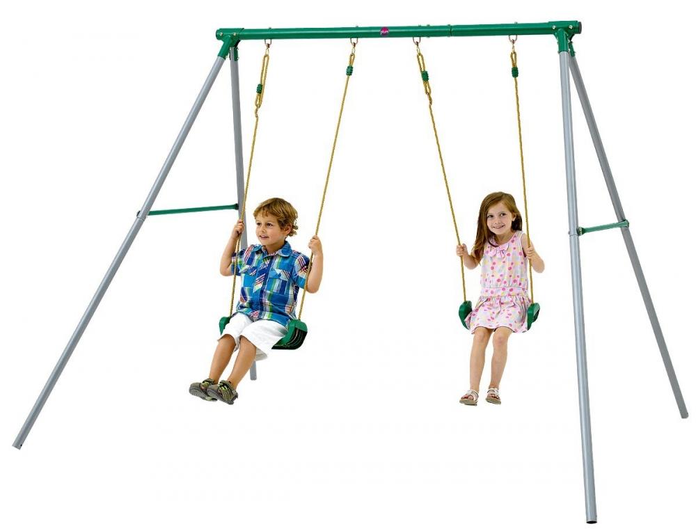 Complex leagane pentru 2 copii Sedna II Plum imagine
