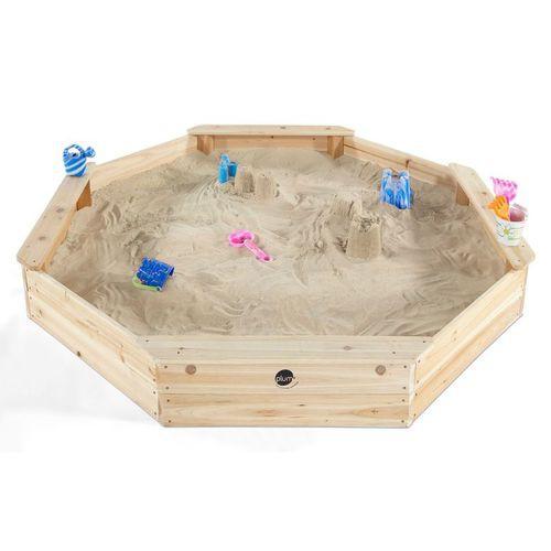 Cutie de nisip din lemn Giant Plum imagine