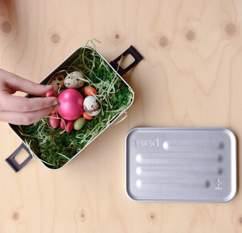 Cutie din aluminiu pentru alimente Plus Alu S