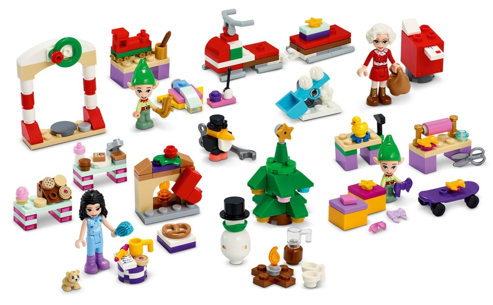 Lego Friends Calendar de Craciun