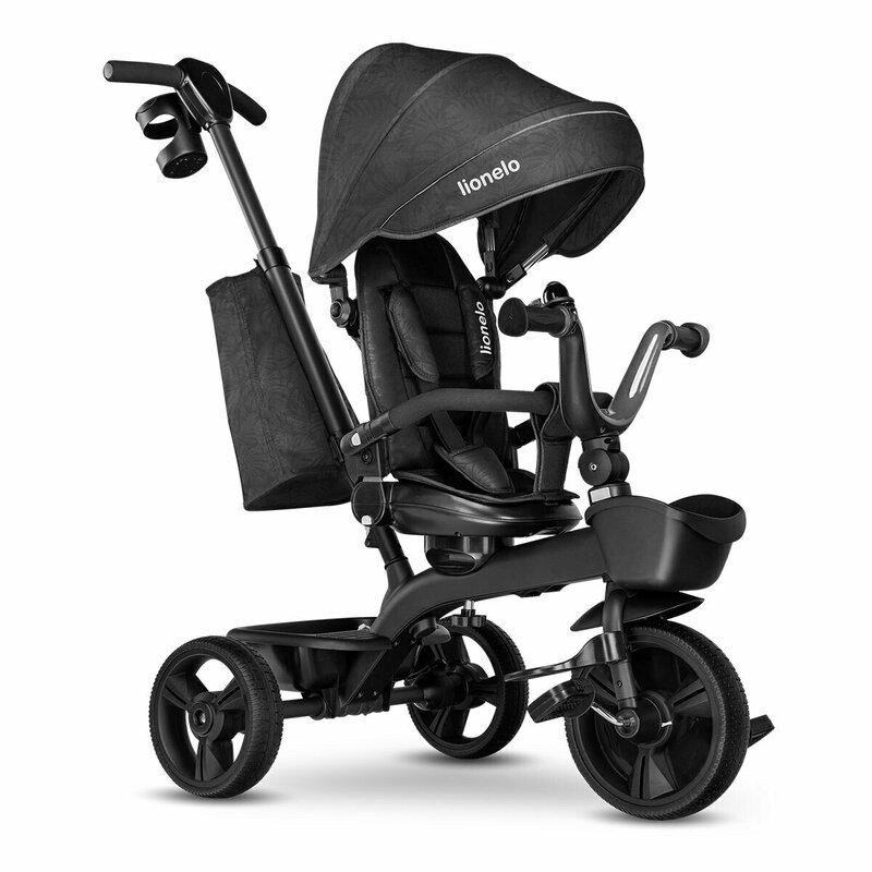 Tricicleta Multifunctionala Cu Sezut Reversibil Kori Grey Stone Lionelo