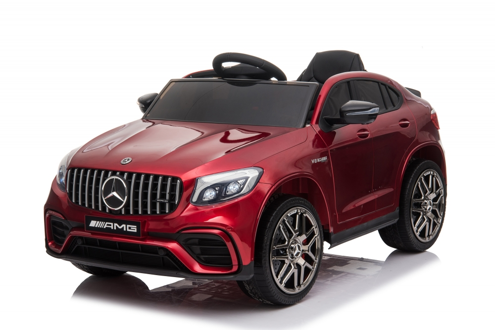 Masinuta electrica cu roti EVA Mercedes Benz GLC 63 Limited Edition Red