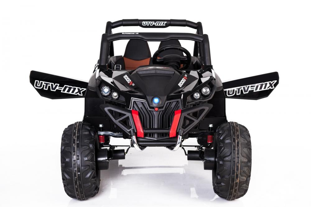 Masinuta electrica cu telecomanda Xtreme Jumper 4x4 UTV-MX Black - 3