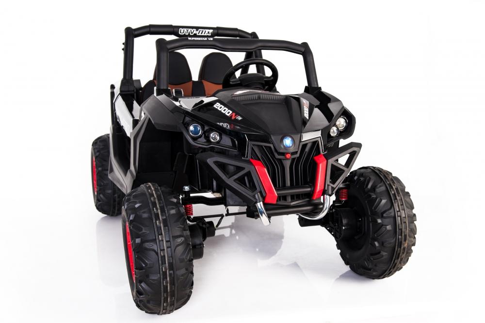 Masinuta electrica cu telecomanda Xtreme Jumper 4x4 UTV-MX Black - 4
