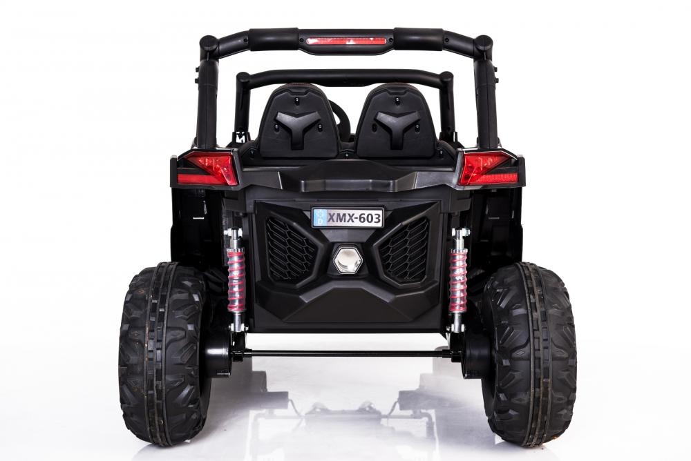 Masinuta electrica cu telecomanda Xtreme Jumper 4x4 UTV-MX Black - 5