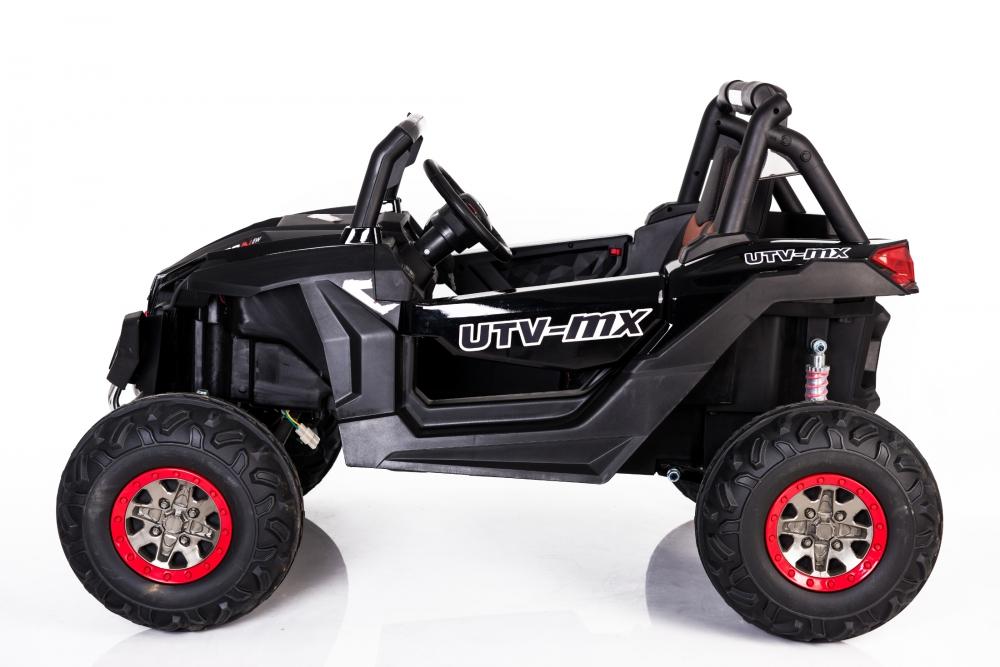 Masinuta electrica cu telecomanda Xtreme Jumper 4x4 UTV-MX Black - 7