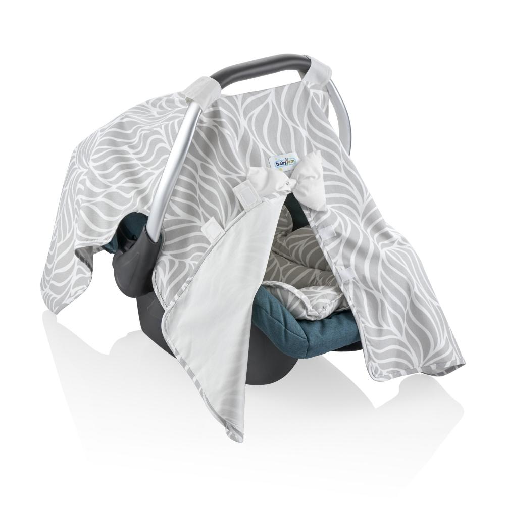 Parasolar Pentru Scoica Auto Babyjem Infant Cover Grey
