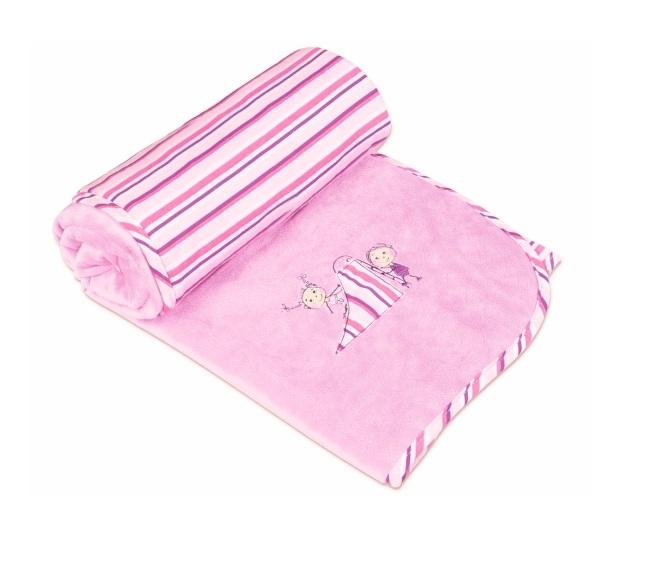 Paturica pentru bebelusi 75x100 cm Blanket Love 10