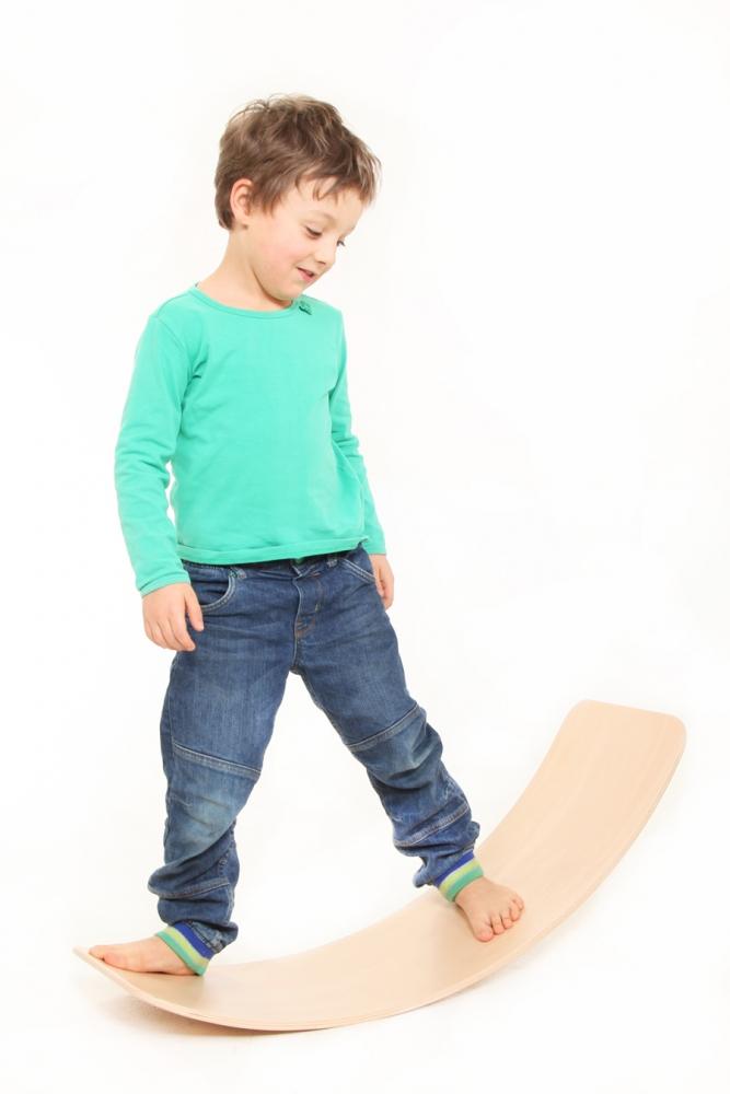 Placa de echilibru si balans TicToys model cu benzi de pluta
