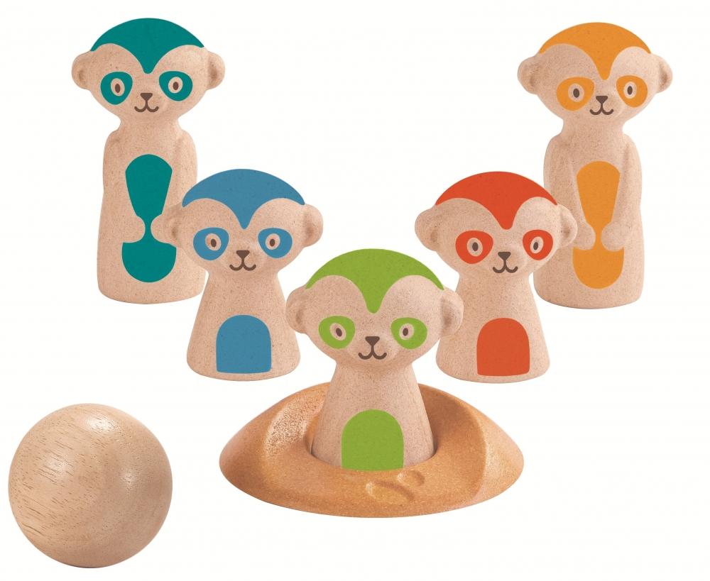 Set de bowling cu suricate