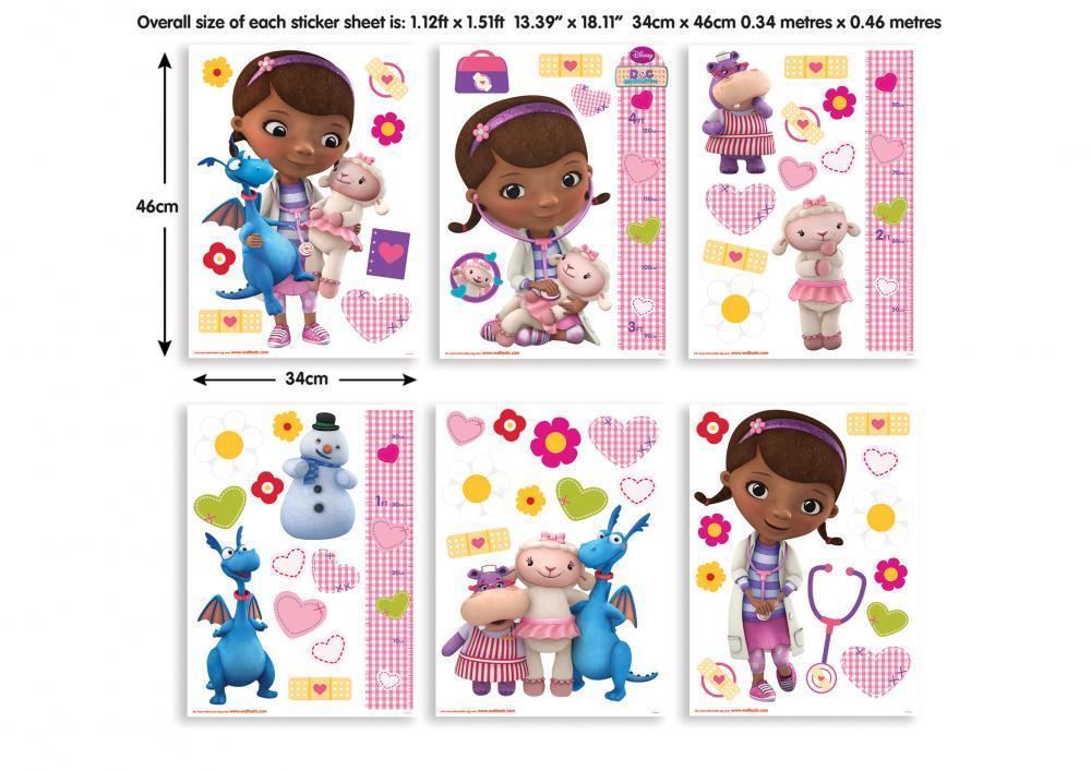 Stickere copii decorative doctorita Plusica imagine