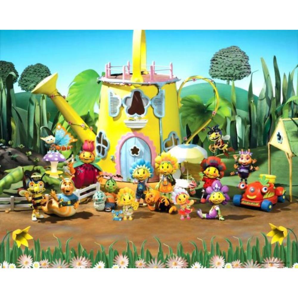 Tapet Pe Baza De Hartie Pentru Copii Fifi And The Flower