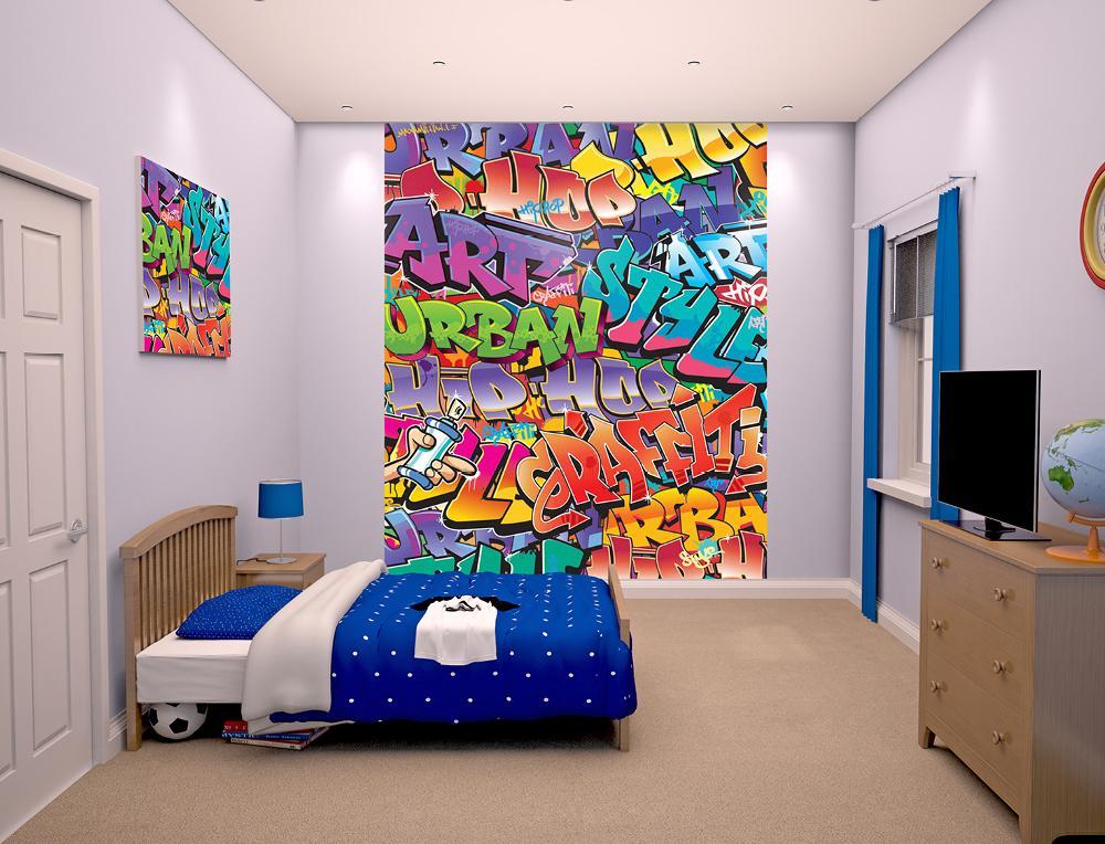 Tapet Pe Baza De Hartie Pentru Copii Graffiti