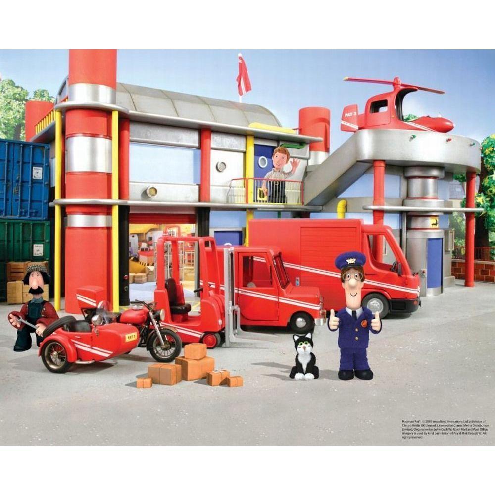 Tapet Pe Baza De Hartie Pentru Copii Postman Pat Special