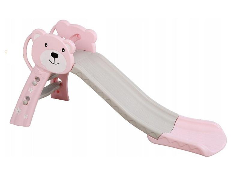 MYKIDS Tobogan Bear Pink 143 cm