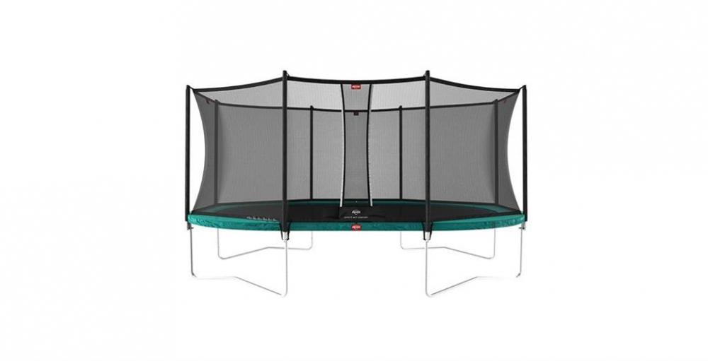 BERG TOYS Trambulina Berg Grand Favorit Regular 520 green + plasa Comfort