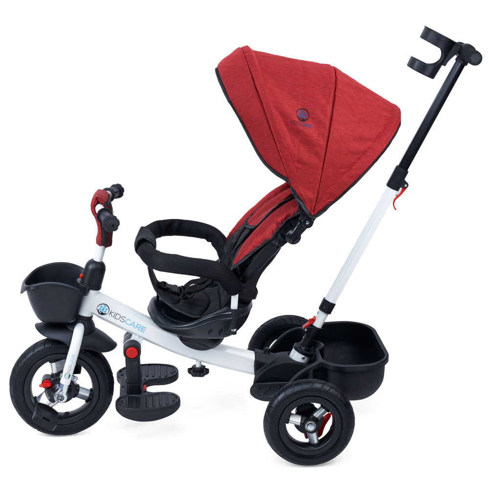 Tricicleta cu scaun rotativ Evora rosu KidsCare imagine